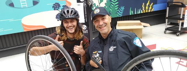 Photo de l'événement campus à vélo